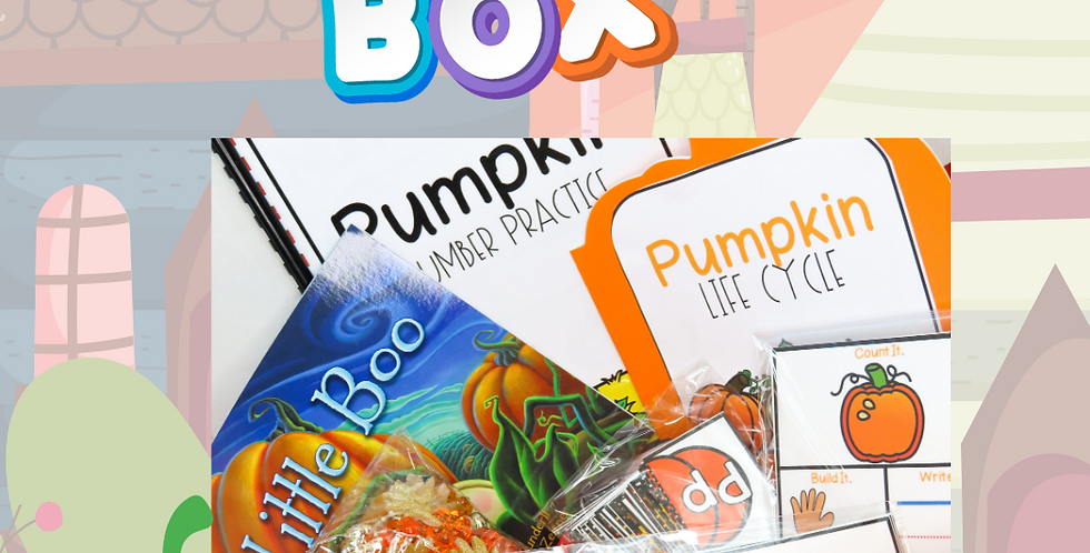 Pumpkin Themed Preschool Box