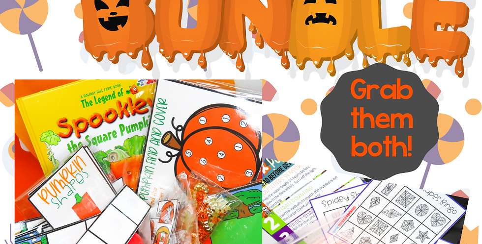 October Tot Box Bundle