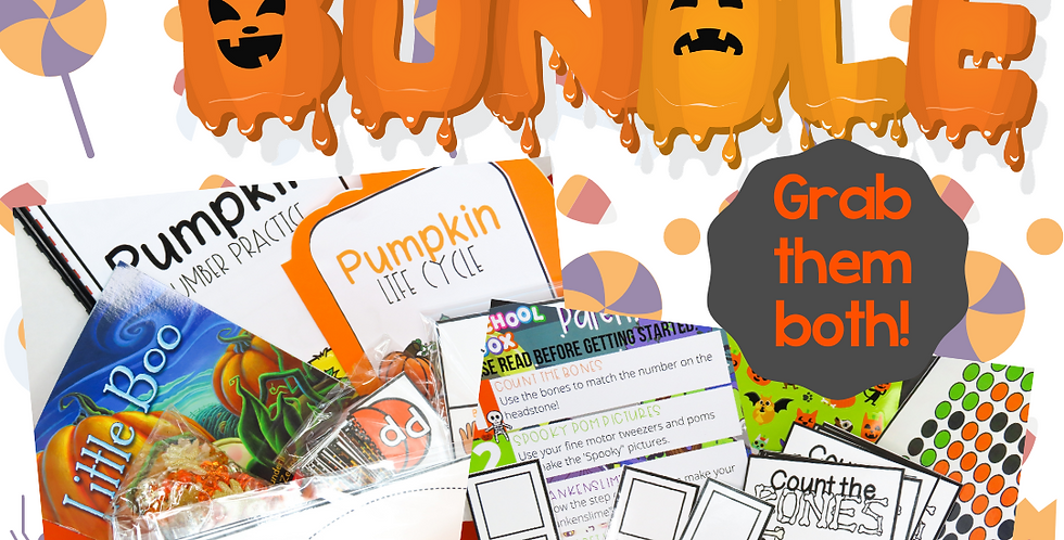 Preschool October Box Bundle