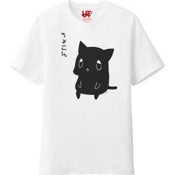【くまお。】ちょこん。Tシャツ。