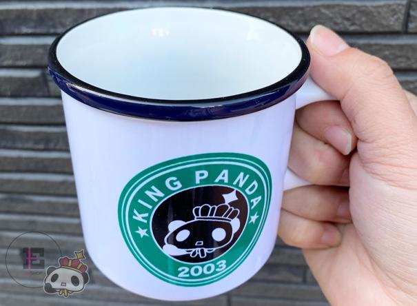 【王様ぱんだ。】マグカップ。
