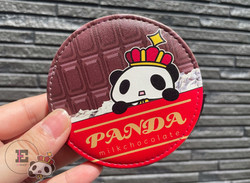 【王様ぱんだ。】チョコ。コインケース。