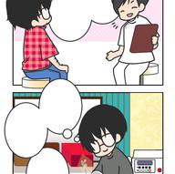 サロン説明用4コマ漫画制作