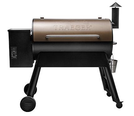 Traeger PRO Series 34 BRONZE Pellet Grill - BLUE