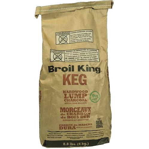 BROIL KING 4kg Hardwood Keg Lump Charcoal
