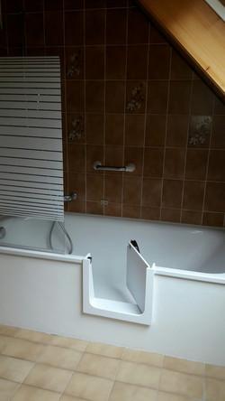 Porte pour baignoire