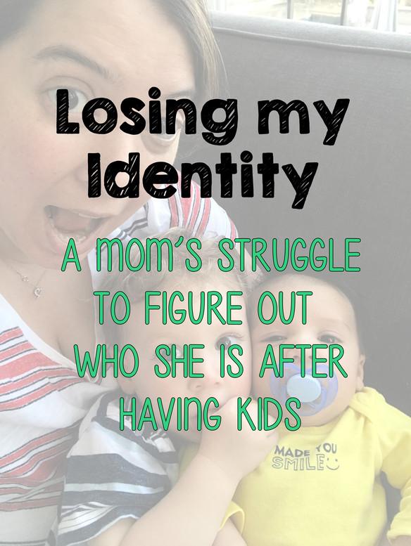 Losing my identity