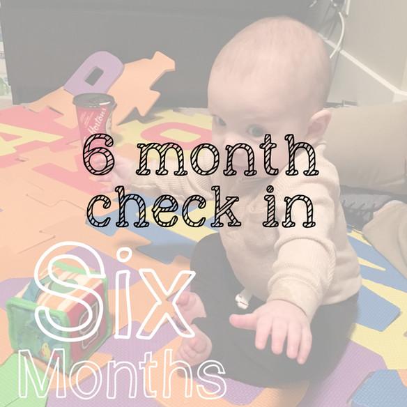 The first 6 months as a parent