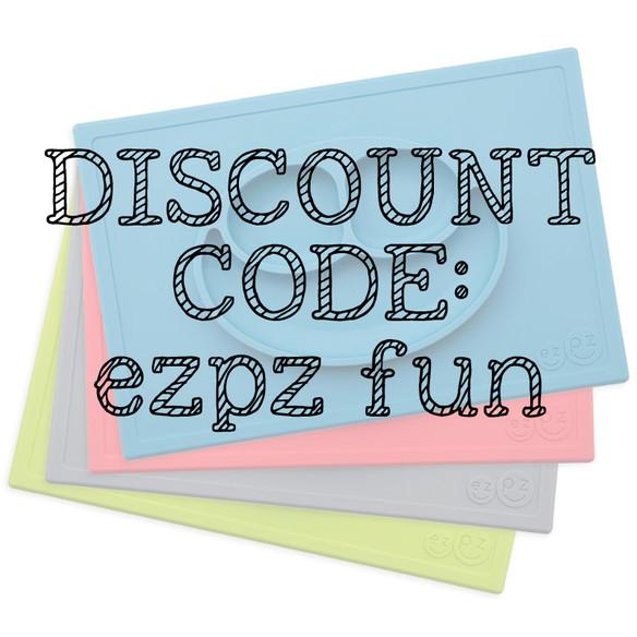 EZPZ Happy Mat - Discount Code