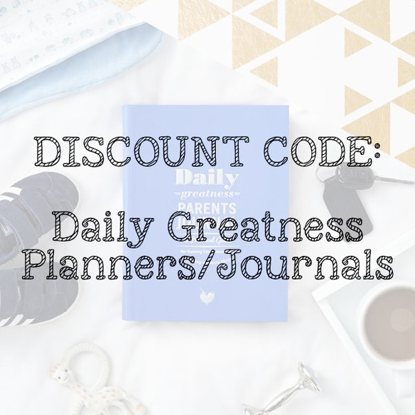 Daily Greatness Planners Discount Code