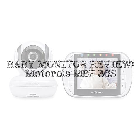Motorola 36S - Baby Monitor Review