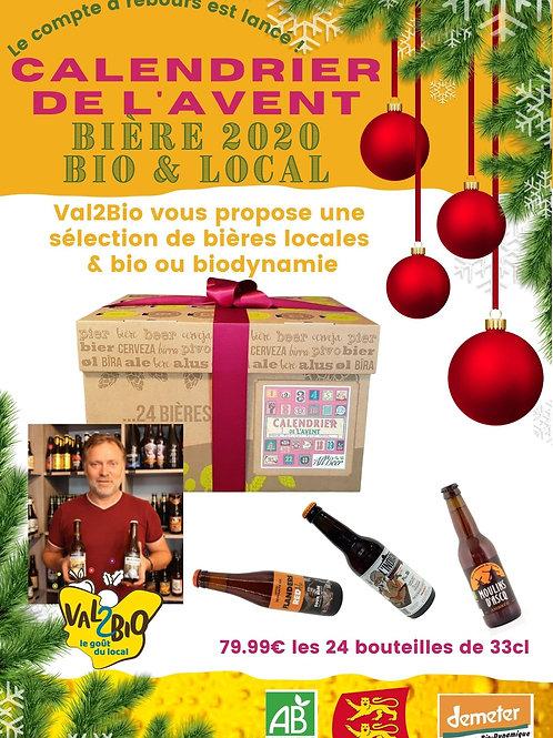 calendrier avent bières locales et bio