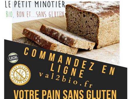 Précommande Pains ss gluten