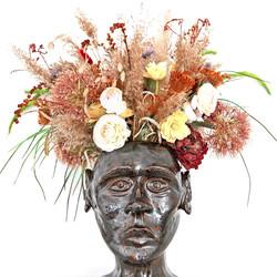 ceramics bust sculpture