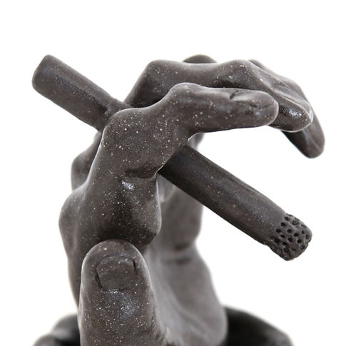 Cool dark ashtray