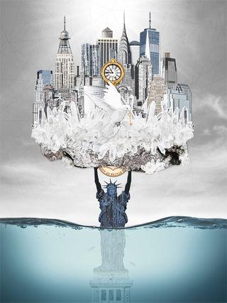 New York artwork by Michala Brincker