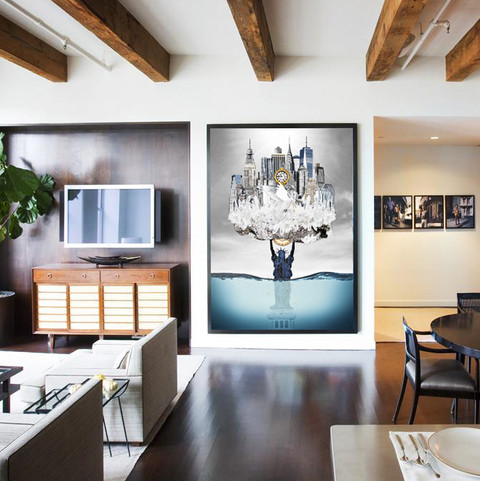 NEW_YORK_artwork_by_Michala_Brincker_Cop