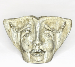 Harlequin sculpture