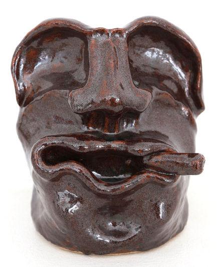 Mr Churchill cigar vase