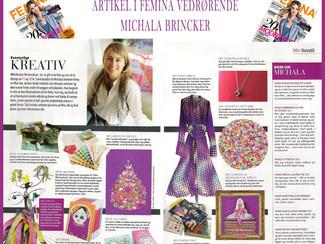 Article, magazine Femina