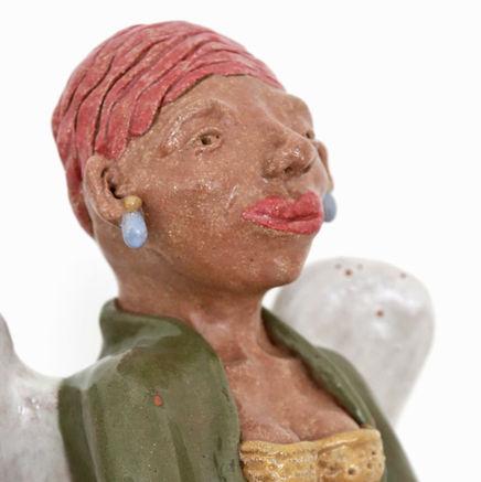 My angel sculpture