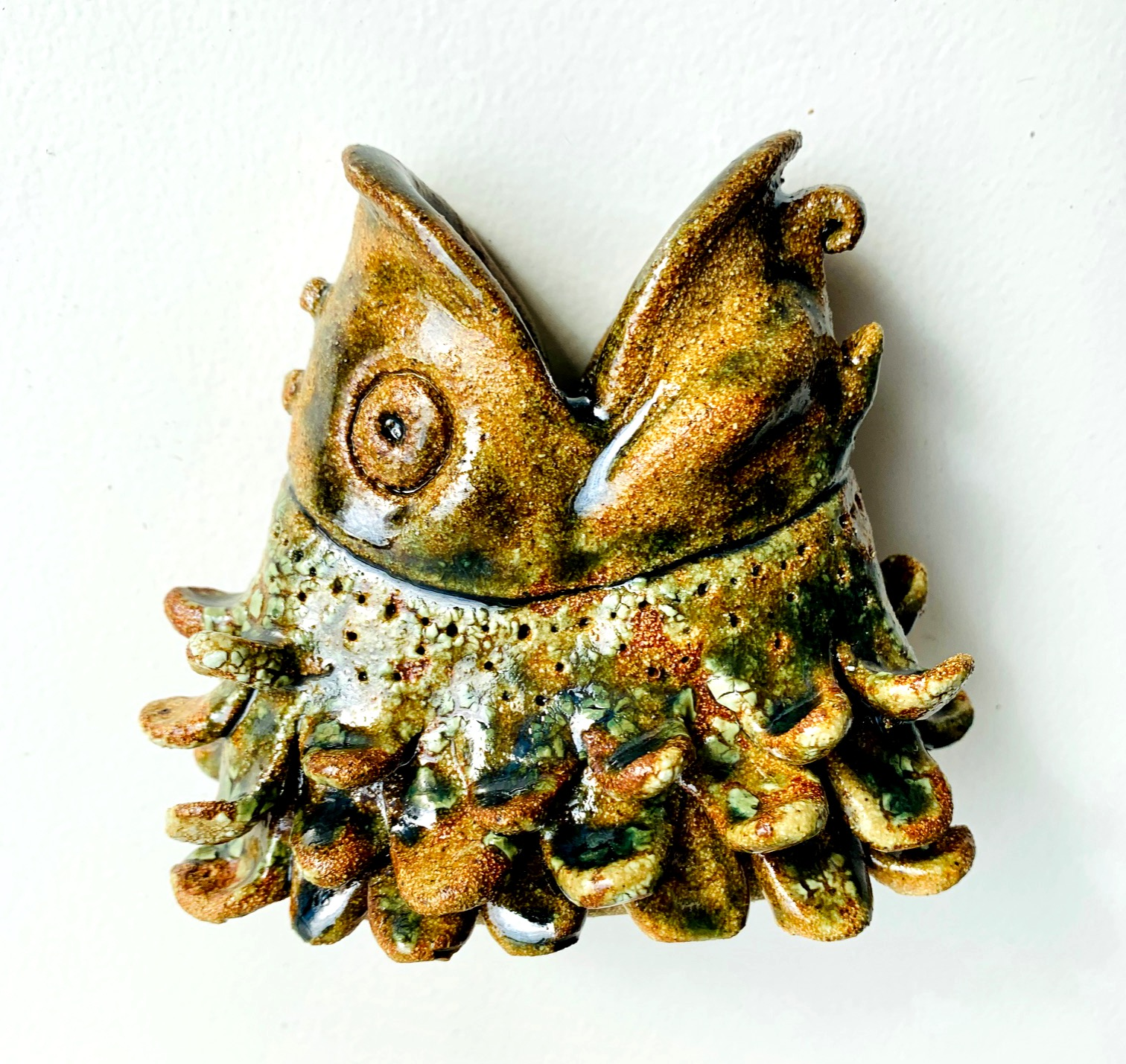 My fish sculpture - SOLD