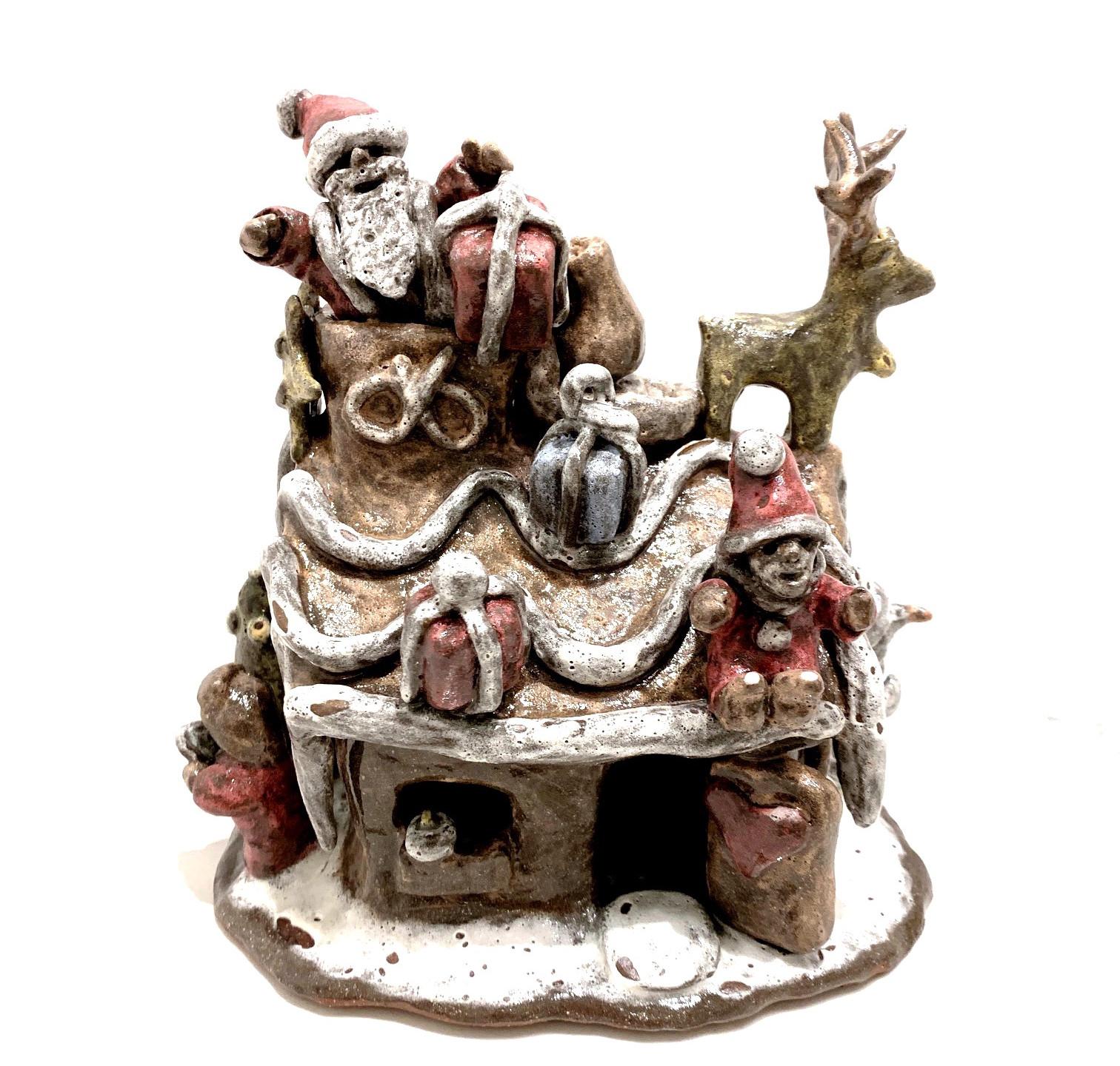 Ceramics Christmas house