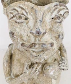Ceramics sculpture