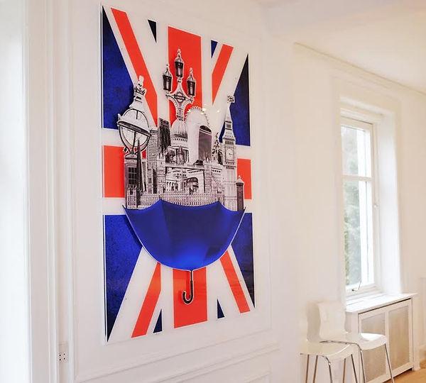 London artwork by Michala Brincker