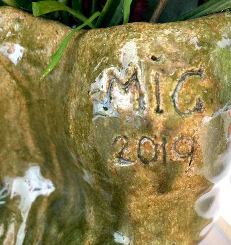 Bull vase