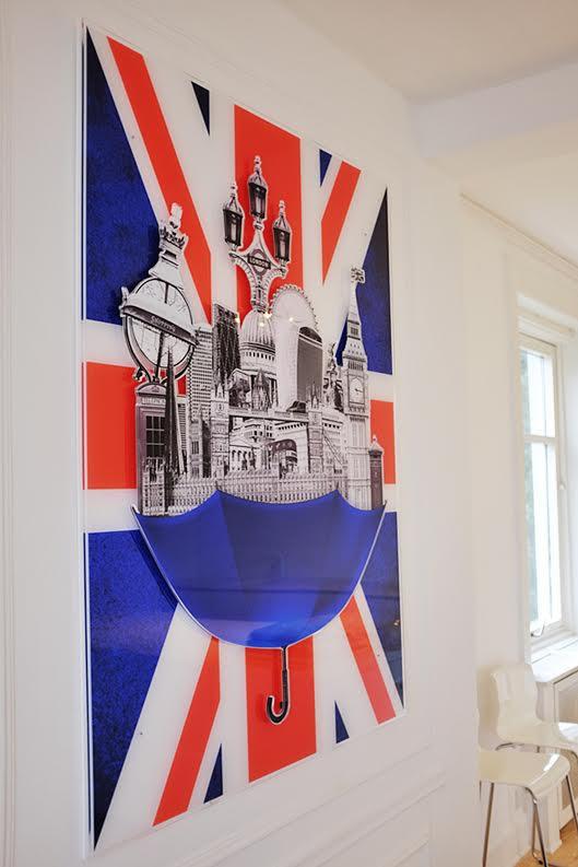 London art by Michala Brincker