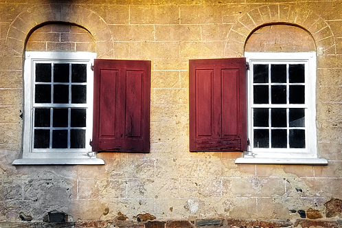 Old Church Windows