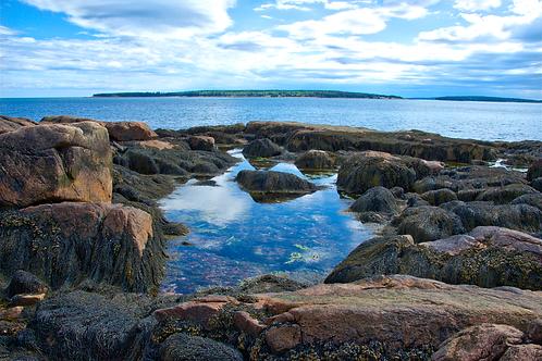Bass Harbor Reflection