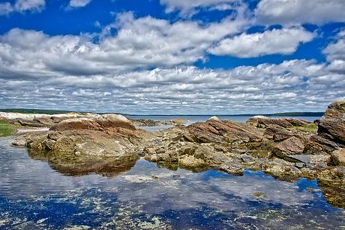 Blue Hill Bay Reflection