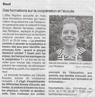 20210301 - Article OF Pontivy - Formatio