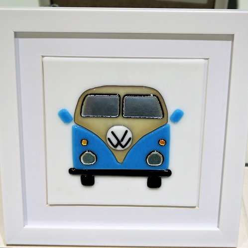 VW Campervan - Blue