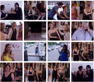 Shots of HairKutz TV Series
