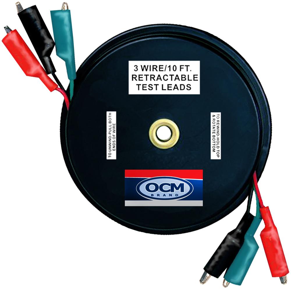 OCM Brand Retractable Test Leads