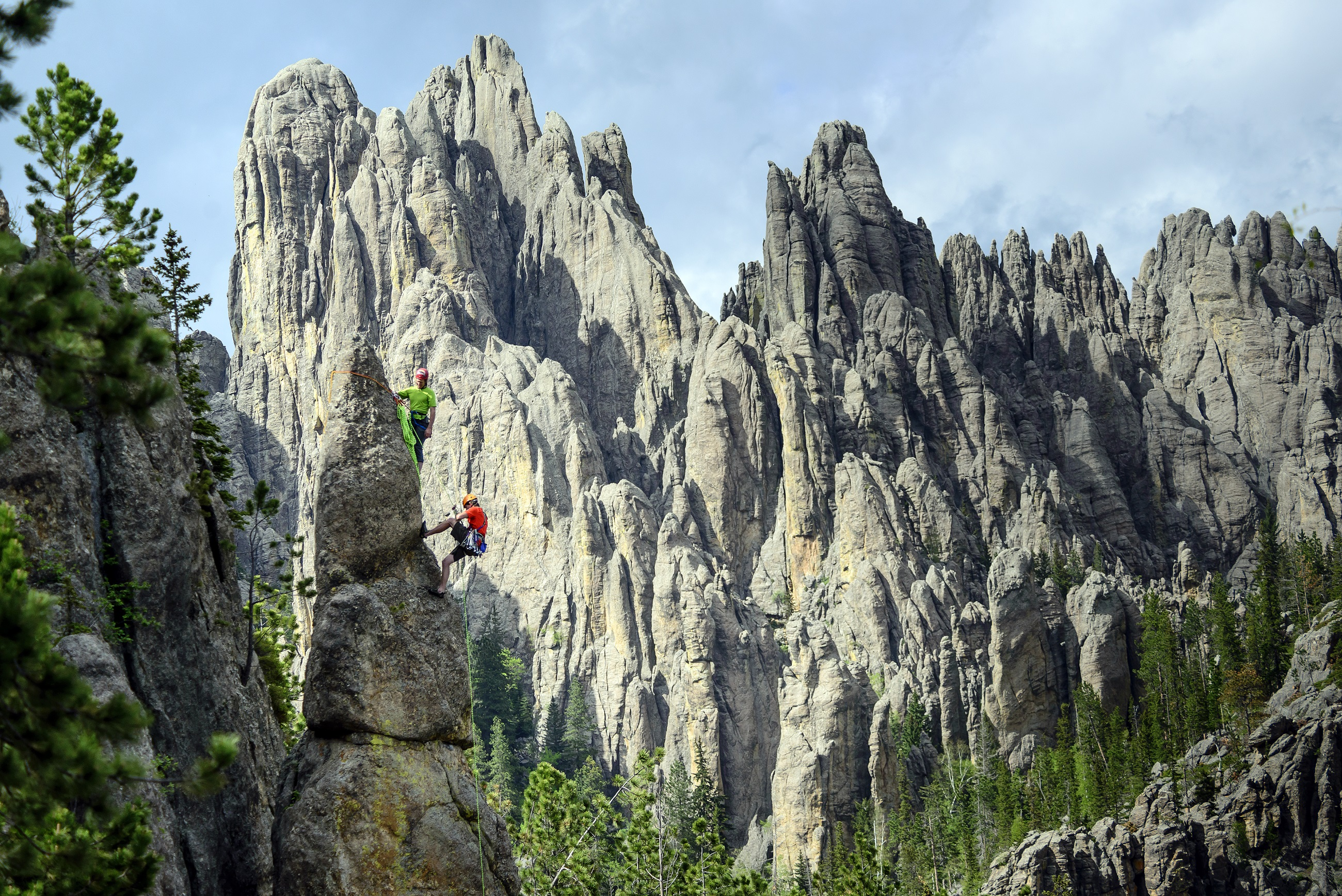 RockClimbing in the Black Hills