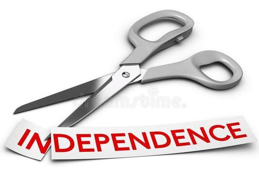 INDEPENDENT YET DEPENDENT
