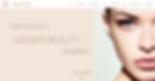 Geiger Beauty website