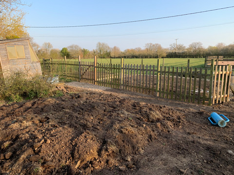New fencing in place