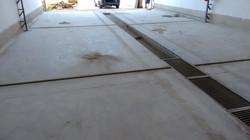 Área a ser utilizada na limpeza técnica de veículos