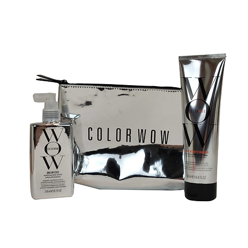 color wow trousse miroir shampoing et dreamcoat