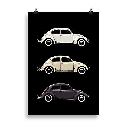 Käfer Poster by DesignSaloon