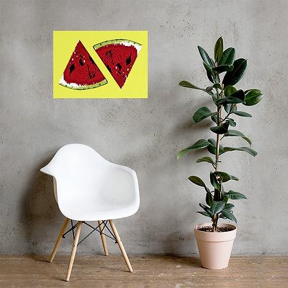 Melon Poster by DesignSaloon