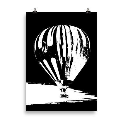 Hot Air Balloon Poster by DesignSaloon