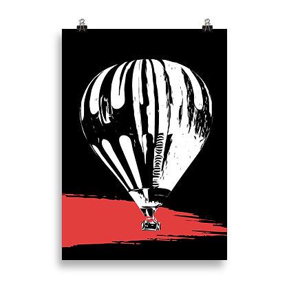 Hot Air Balloon (2) Poster by DesignSaloon