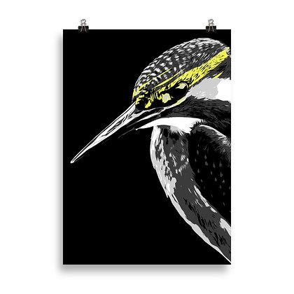 Bird (black) Poster by DesignSaloon