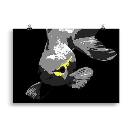 Fisch (black) Poster by DesignSaloon